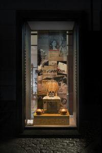 Le vetrine di Dolce&Gabbana
